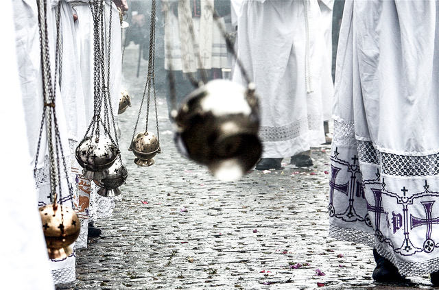 Bronk in Eijsden - gemeente Eijsden Margraten - processie